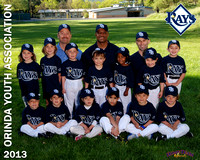 OYA Baseball, SB, T-Ball & Incrediball 2013